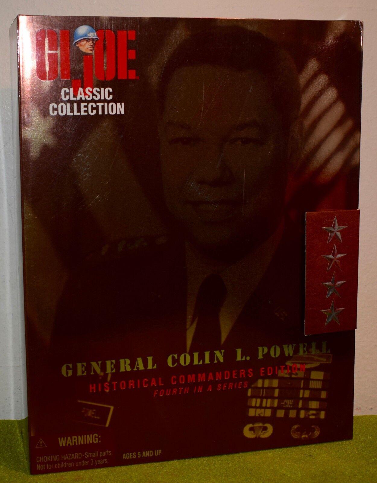 HASBRO GI JOE CLASSIC COLLECTION GENERAL COLIN L. POWELL