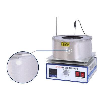 Zielsetzung Neu 1-5l Magnetrührer Magnetische Mixer Rühren Heiße Platte Wasser Öl Bad Topf