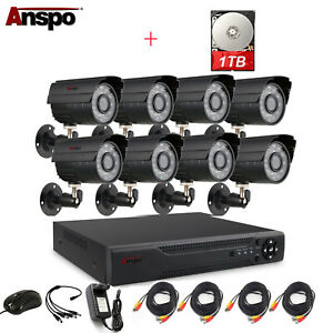 Anspo-CCTV-Security-Camera-System-4-8CH-AHD-1080N-DVR-Home-Surveillance-1TB-HDD