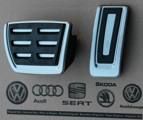 Skoda superb 3v original RS pedalset pedales pedal tapas VRS pedal pads Caps