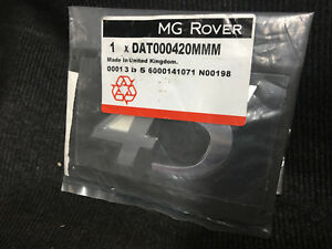Genuine-MG-Rover-45-From-2004-Tailgate-Boot-Rear-Badge-Decal-DAT000420MMM
