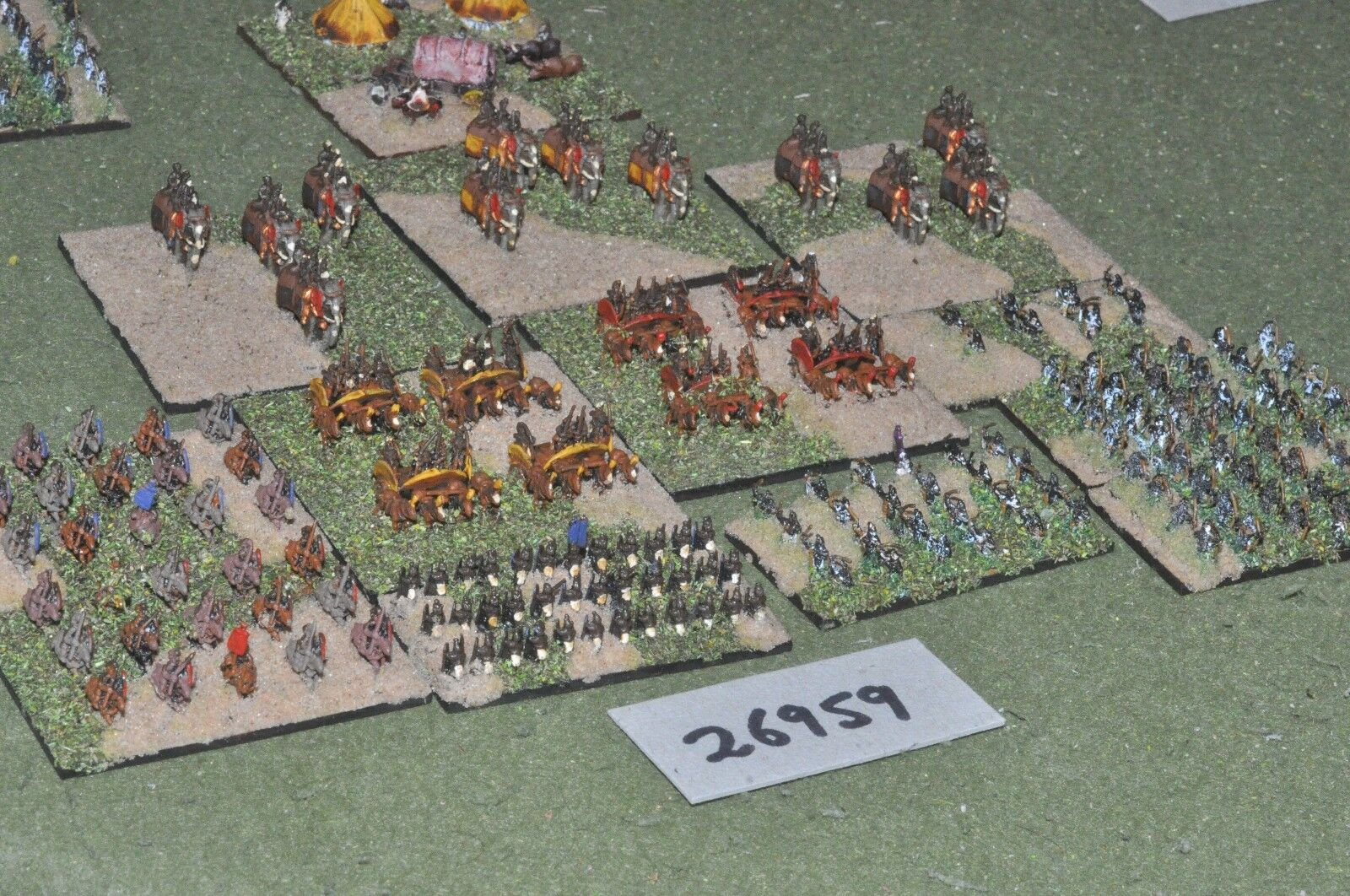 6mm classical   indian - army 200 figures - inf (26959)