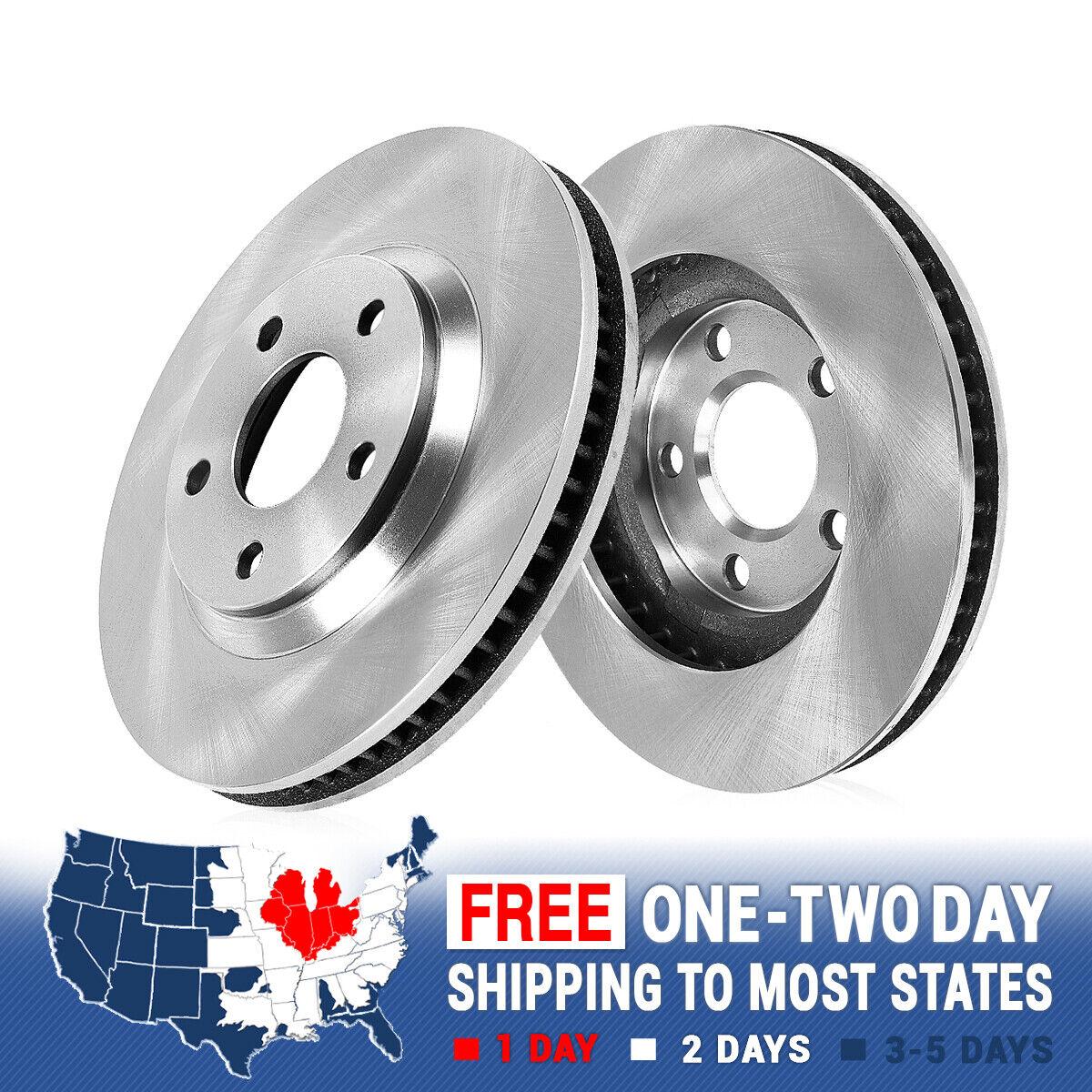 Fits:- Dodge Chrysler 4 Ceramic Pads 2 Cross-Drilled Disc Brake Rotors 5lug Front Kit High-End