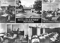 AK, Potsdam, Neuer Garten, Hotel Cecilienhof, fünf Abb., 1966