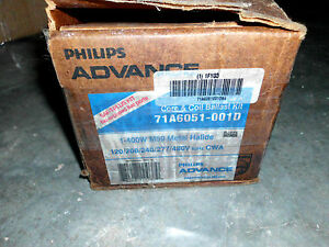 Image Is Loading Philips Advance 71A6051001D 400W MH 5 Tap Ballast
