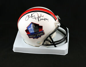 Charley-Taylor-SIGNED-Football-Hall-of-Fame-Mini-Helmet-PSA-DNA-AUTOGRAPHED