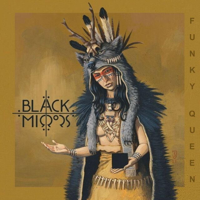 BLACK MIRRORS - FUNKY QUEEN   CD NEW!