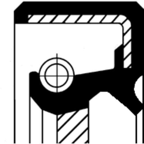 CORTECO WELLENDICHTRING, NOCKENWELLE KIA, MAZDA 19026018B