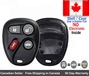 1x-New-Replacement-Keyless-Remote-Key-Fob-For-Chevy-Cadillac-GMC-Shell-Case