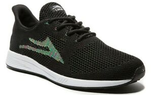 Lakai-Shoes-Evo-Fully-Flared-Black-Textile-USA-SIZE-Skateboard-Sneakers