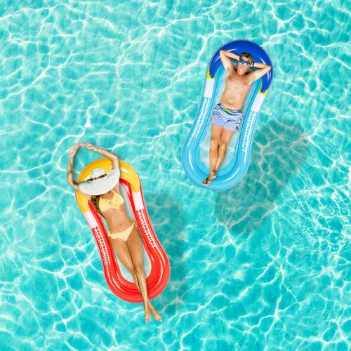 Luftmatratze Sonnenliege Mesh Lounge Netzboden Wasserliege Airmat Pool Strand