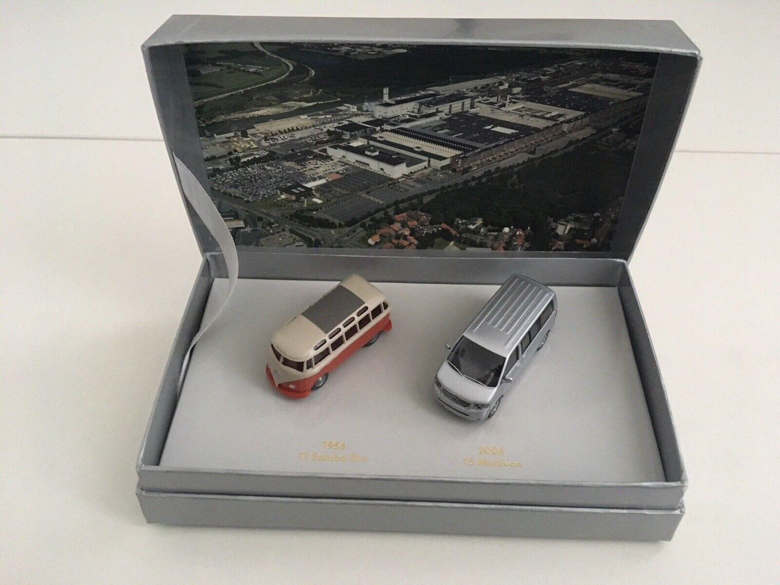 VW Pack  T1 Samba + T5 Multivan (50th Anniversary) - 1 87 scale - Viking
