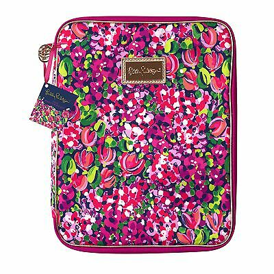 LILLY PULITZER Agenda Folio WILD CONFETTI Organizer Lg M S Holds Tablet Notebook