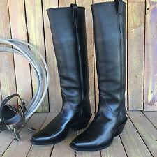 "21"" Tall Custom Handmade Michael Anthony Western Cowboy Boots - Size 12 E"