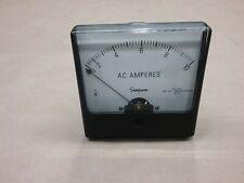 Simpson 35073 918 3503 Ac Amperes Panel Meter 1357 19f43