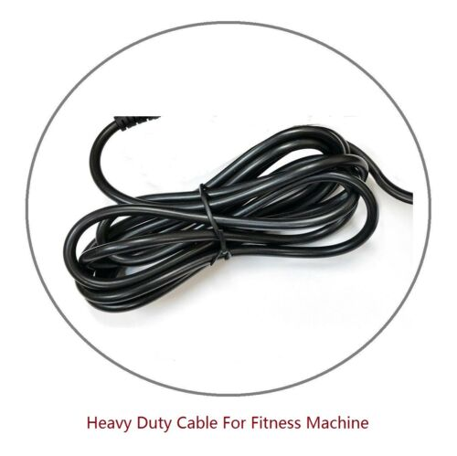 AC Adapter Power Supply for Life Fitness  R1 Base 120V DOM Cord R1-XX00-0103