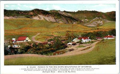 A Dude Ranch In The Big Horn Mountains Of Wyoming Scenic, WY