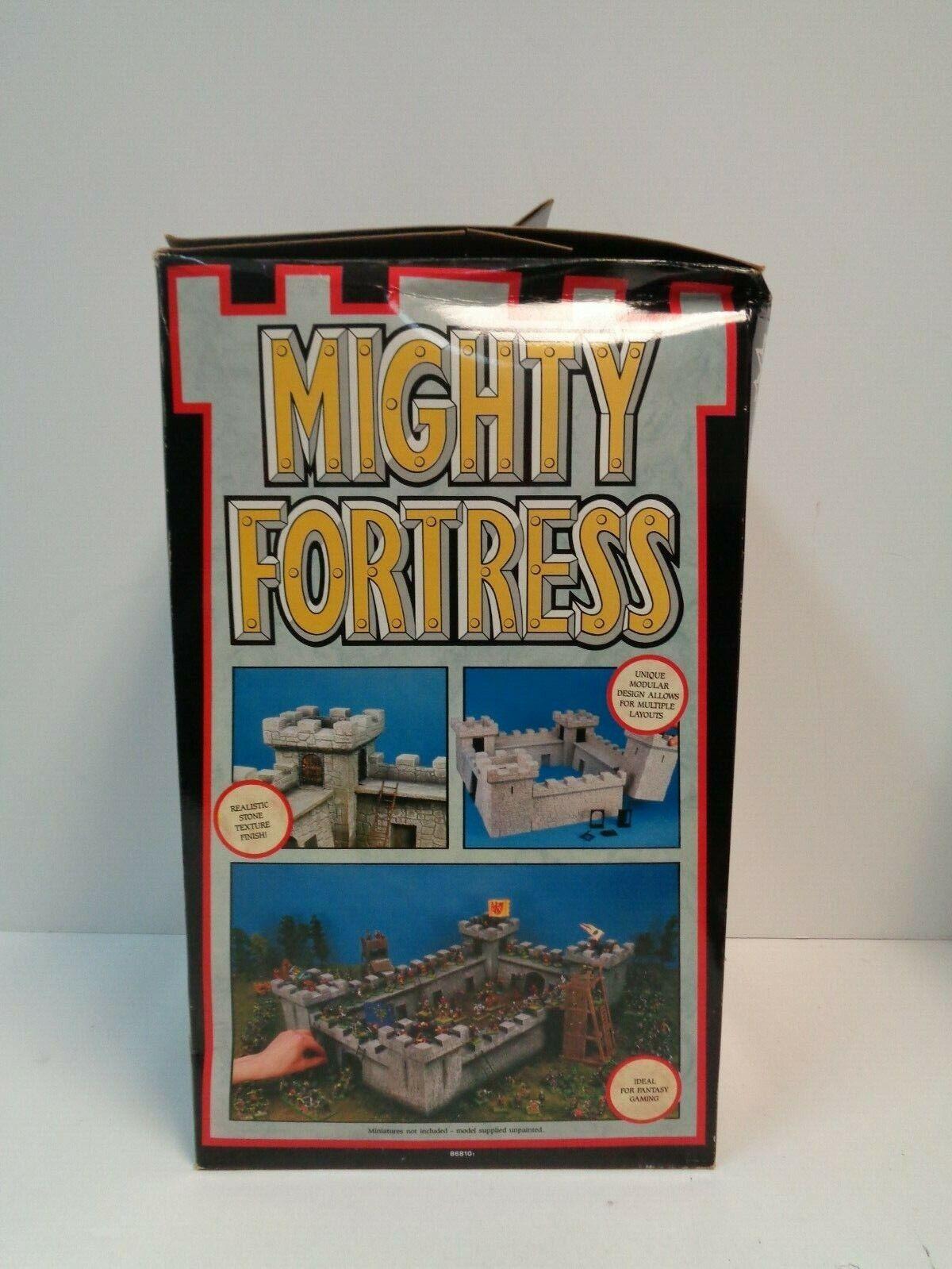 liquidazione giocos giocos giocos lavoronegozio MIGHTY FORTRESS Citadel Minatures - 1988 Styrene Castle modello  presentando tutte le ultime tendenze della moda
