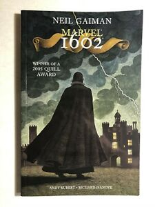 MARVEL-1602-by-Neil-Gaiman-2006-Marvel-Comics-TPB-VG-FINE
