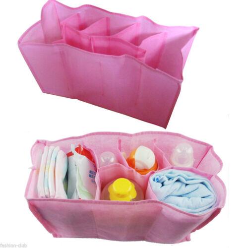Bottle Changing Divider Diaper Nappy In Bag Inner Liner Organizer Bag Storage