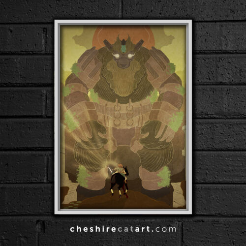 "Shadow of the Colossus 13x19/"" Poster"