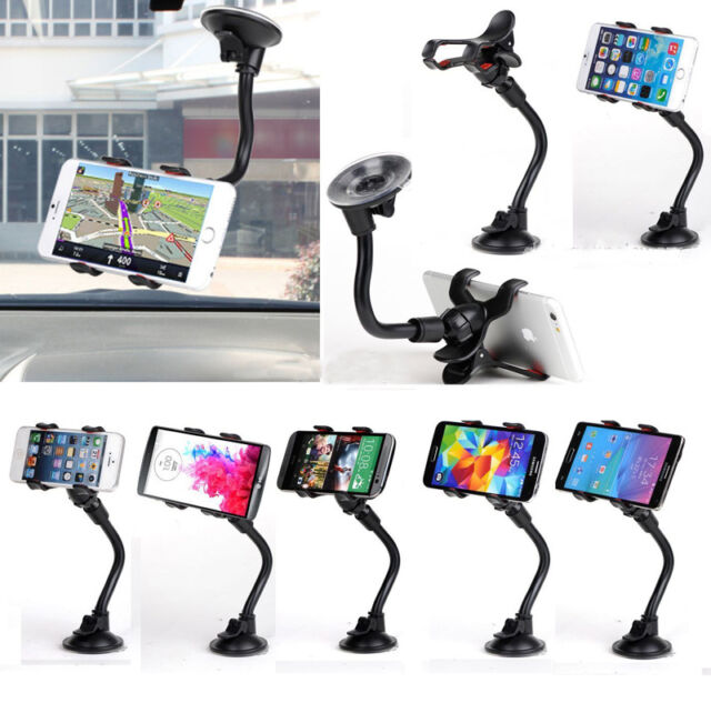 Universal 360° Rotating Car Windshield Mount Holder Stand For Mobile CellPhone