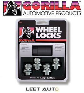 12mm X 1.50 Thread Size Gorilla Automotive 73631TB-5 Toyota Mag Wheel Locks with Washer 5 Pack