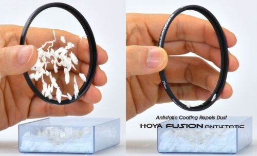 Hoya Fusion Antistatic filtro UV evo 40.5 43 46 49 52 55 58 62 67 72 77 82mm