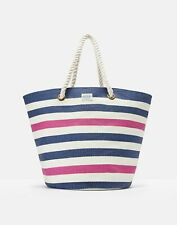 Joules 204705 Printed Beach Bag ONE in FRENCH NAVY STRIPE in One Size