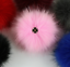 DIY Large Faux Raccon Fur Fluffy Pom Pom Ball for Hats Beanie Warm Accessories