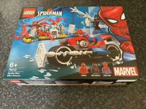 LEGO-MARVEL-76113-SPIDER-MAN-BIKE-RESCUE-SET-BOXED-NEW-SEALED