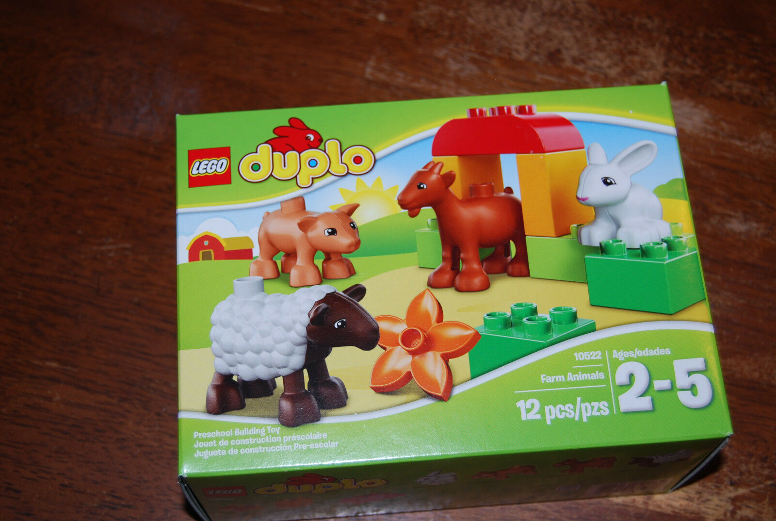New Duplo Farm Animals Rare Retired HTF 10522 10522 10522 Factory Sealed 8a0d5d