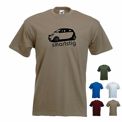 /'smartstig/' Original Model For Four Smart Car ForFour Men/'s T-shirt Tee