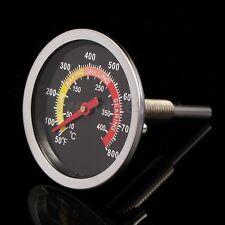 50-400℃ GRADI FORNO A LEGNA BARBECUE TERMOMETRO PIROMETRO BBQ THERMOMETER 85MM