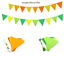 Bunting Banner Flags Garland Wedding Baby Shower Birthday Party Hanging Decor