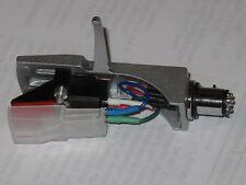 SILVER portatestina + stereo in movimento magnetico assieme CARTUCCIA + Copertura di protezione