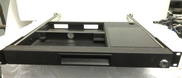 Middle Atlantic 1U Rackmount Computer Keyboard Slide-Out Drawer
