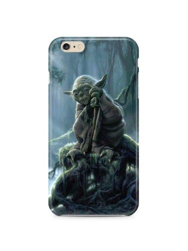 Star Wars Yoda Iphone 4s 5s 5c 6 6S 7 8 X ip4 caso Xs Max XR Plus