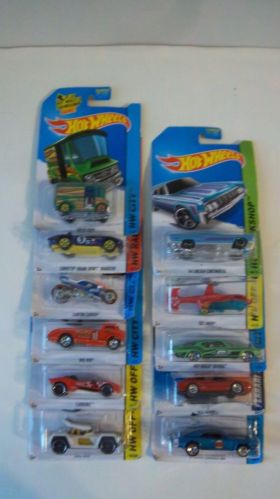 Hot Wheels (Lot of 11) Including  Ferrari 308 GTS