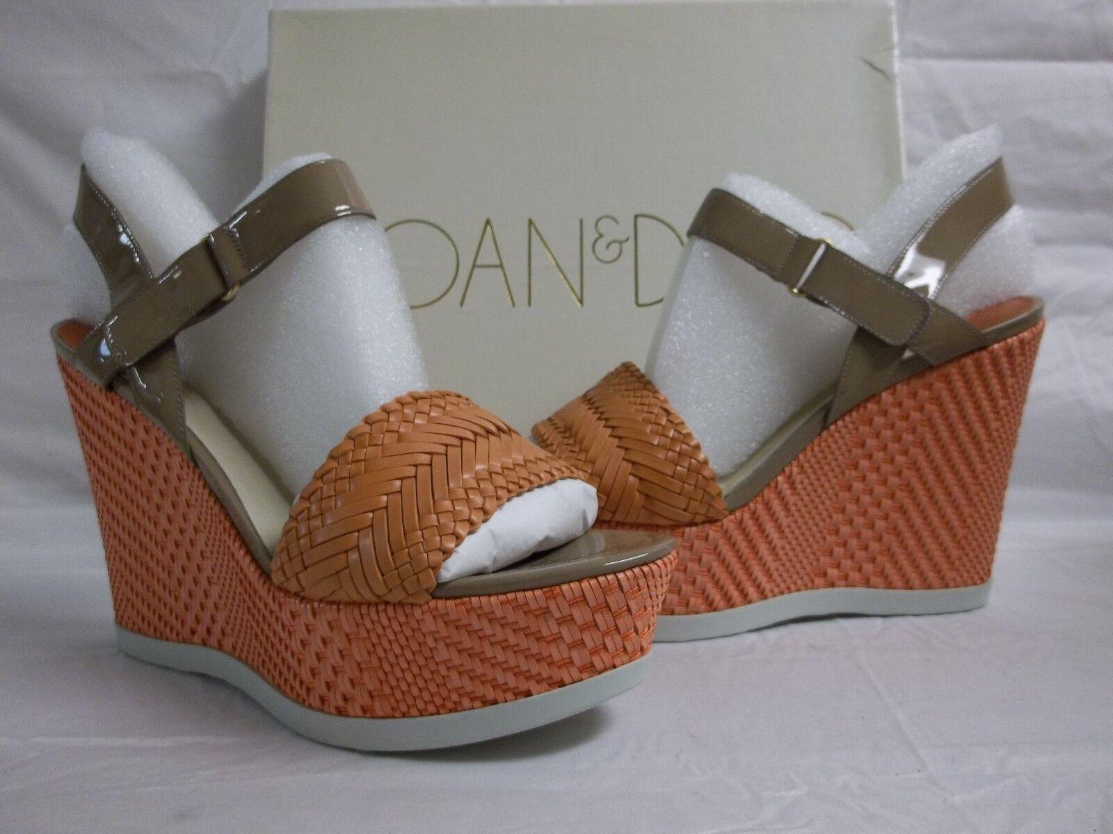 grande vendita Joan & David Dimensione 10 M M M Daidona Light arancia Leather Wedges New donna scarpe  migliore offerta