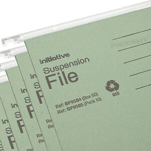 20-x-Green-A4-Hanging-Suspension-Files-Tabs-Inserts-Filing-Cabinet-Folders-Set