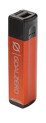 Fornito Goal Zero Flip 10 Caricabatteria-caricatore Per Alimentazione Usb Dispositivi-bushfire Rosso-