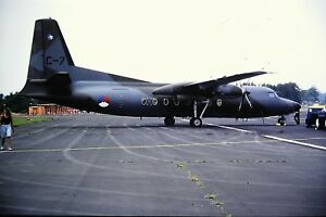 3-954-Fokker-F-50-Royal-Netherlands-Air-Force-C-7-Kodachrome-Slide