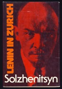 Solzhenitsyn-LENIN-IN-ZURICH-History-RUSSIAN-REVOLUTION-Russia-FIRST-EDITION