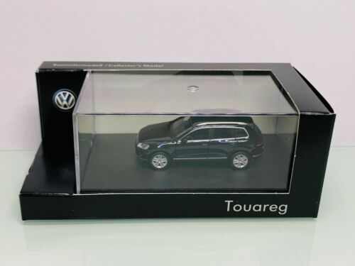 Herpa Sondermodell VW Touareg schwarz metallic in OVP