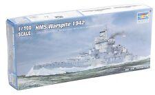 1/700 HMS Warspite 1942 - Royal Navy WWII Battleship - Trumpeter #05795