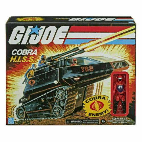 Hasbro G.I. Joe Cobra Hiss Tank With Driver Figure