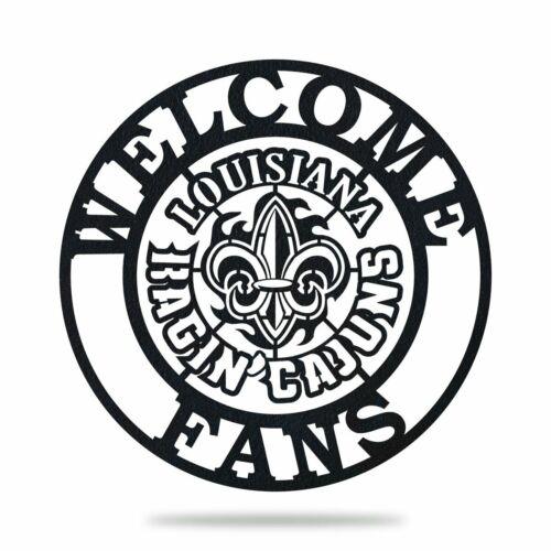 Ragin Cajun Welcome Metal Sign