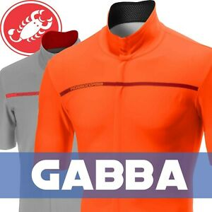 Castelli Gabba 3 Men/'s Windstopper Short Sleeve Cycling Jacket