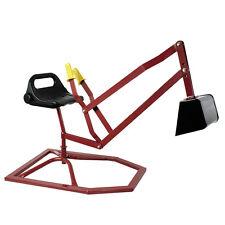 Backhoe Digger Crane Ride Toy Sandbox Beach Snow Car Kid Strong Play Outdoor